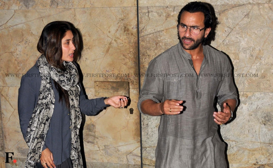 Saif Ali Khan seems angry and it is not just the beegam Kareena Kapoor wondering why. Sachin Gokhale/Firstpost