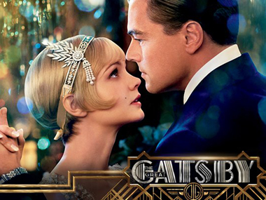 A poster of the film The Great Gatsby.