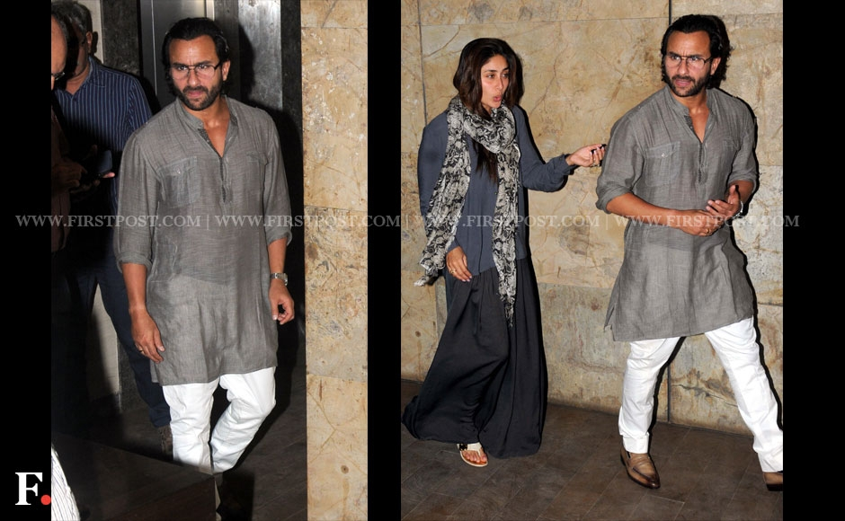 Why is Saif Ali Khan angry? Kareena isn't the only one wondering, we are too. Sachin Gokhale/Firstpost