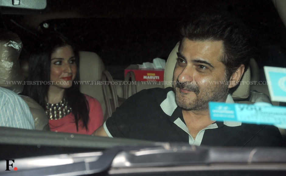 Sanjay Kapoor of (Raja and Prem fame) spotted at the premiere of Go Goa Gone. Sachin Gokhale/Firstpost