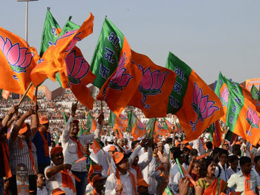 BJP_flags_AFP