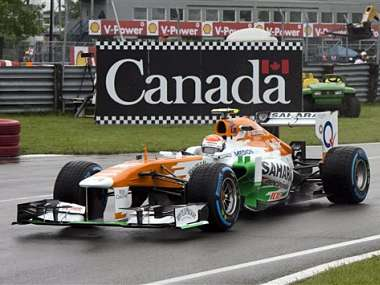 Force India had a good race once again. AP