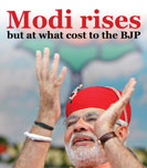 Modi rises, but at what cost to the BJP?
