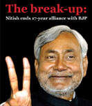 The break up: Nitish ends 17-year alliance with BJP