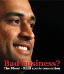 Bad business? The Dhoni - Rhiti sports connection