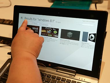 Microsoft has launched the preview version of Windows 8.1. AP