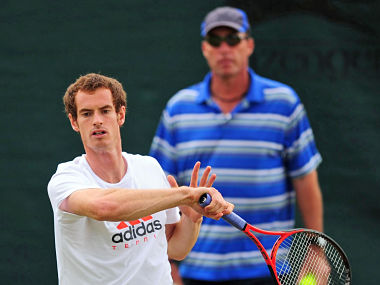 Andy Murray has more time to get used to playing on grass because he missed the French Open. AP