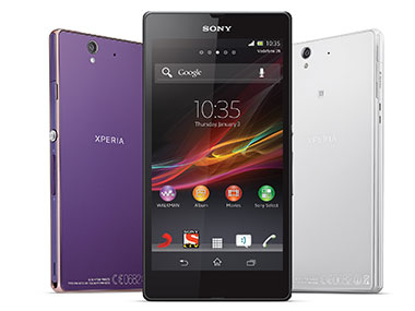 Sony Xperia Z in this file photo. Image from Sony.