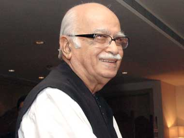 BJP leader LK Advani. Reuters
