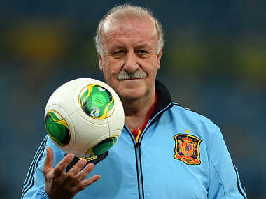 Del Bosque is happy his team has managed to make the final. Getty Images