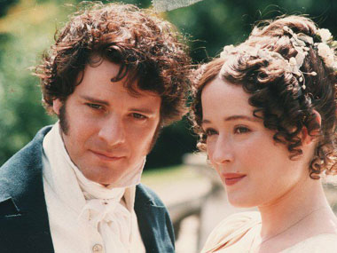 Colin Firth as William Darcy in one of the film adaptations of Pride and Prejudice. Image courtesy: Facebook page