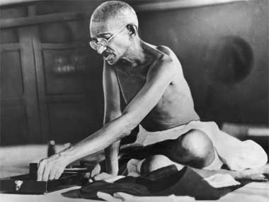 Would Gandhi's version of India be a better one than Nehru's? Getty Images