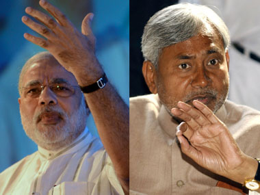Modi has trumped Nitish Kumar even without setting foot in Bihar. AFP.