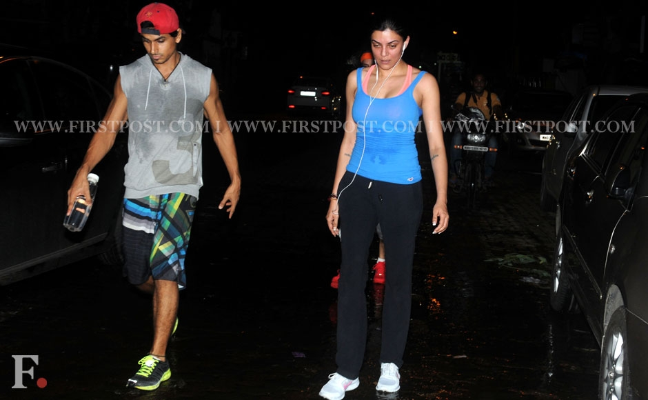 Sushmita Sen spotted at Carter Road. Sachin Gokhale/Firstpost