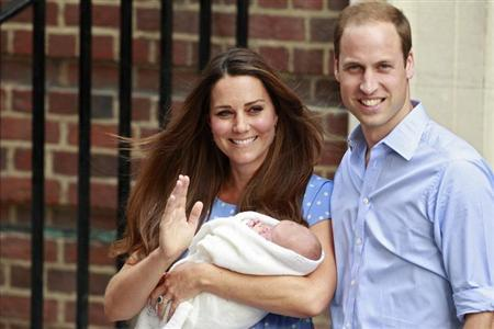 The bookies were right William and Kate name new royal heir George