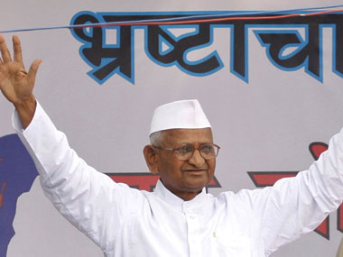 Anna Hazare to launch fresh agitation for Jan Lokpal from October