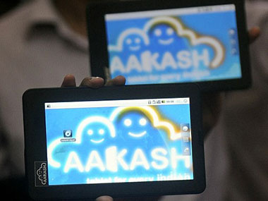 The Aakash 2: File photo by AFP