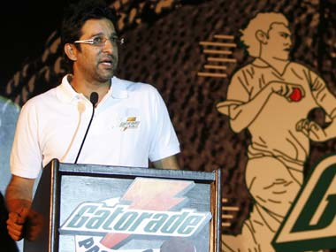Wasim Akram is engaged to an Australian woman. Reuters