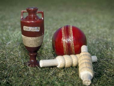 This is what all the fuss is about - the Ashes Urn. Getty Images