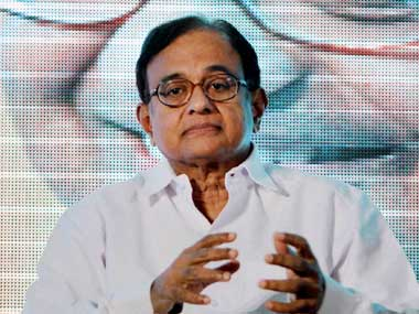 Chidambaram criticised opponents of the Food Bill. PTI