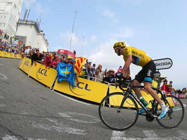 Chris Froome says no rules were broken after failing drug test at Vuelta