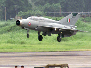 MiG21 trainer aircraft crashes in Madhya Pradeshs Gwalior both pilots ejected safely