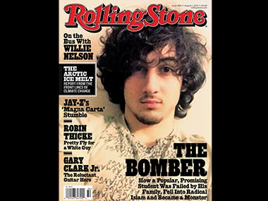 Boston Bomber on Rolling Stone cover Outrageous or courageous