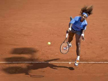Serena coasted to victory in her first match after her early exist at Wimbledon. AP