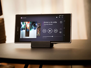 Sony Xperia Z Ultra in this product photo.