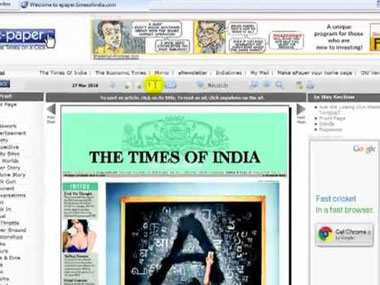TOI Crest shuts down when TV can sell to niche audiences why cant print