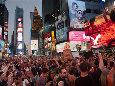 Protests broke out across the US: AP
