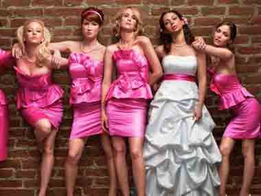 A still from Bridesmaids. Image courtesy IBN Live