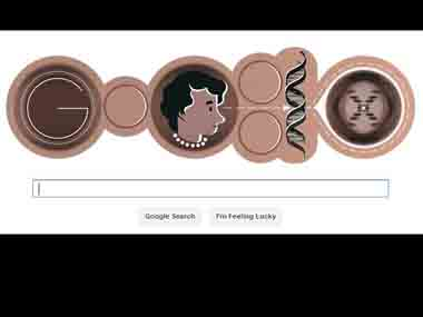 A screenshot of today's Google Doodle.