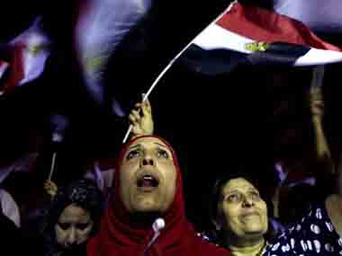 Egyptians in New York celebrate Morsis overthrow but remain wary of future