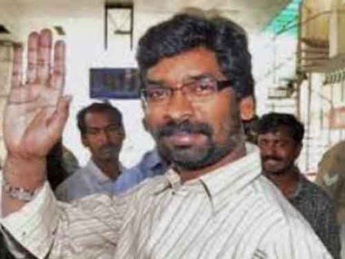 JMM leader Hemant Soren, son of party chief Shibu Soren, was on Saturday sworn in as the new chief minister of Jharkhand.