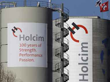 A Holcim factory. Reuters