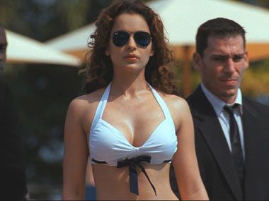 Kangna Ranaut in a still from the film Rascals
