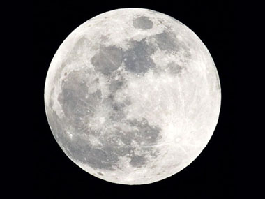 File image of moon from IBN Live