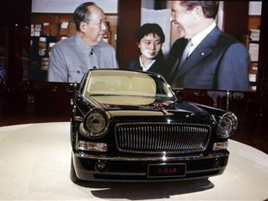 What revival of Chinas historical car Red Flag limo means for diplomacy