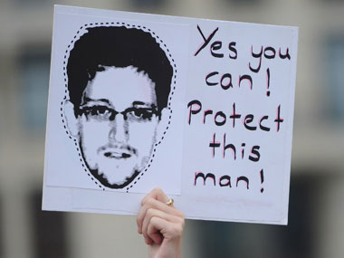 Public support for Edward Snowden has been swelling. AFP.