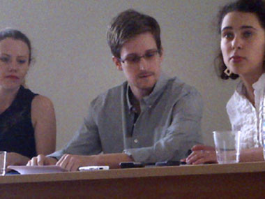 Edward Snowden reportedly sought temporary asylum in Russia. AFP.