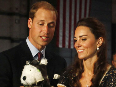 William and Kate: AP