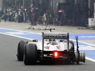 F1 is facing some hard times. AP