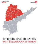 It took five decades, but Telangana is born