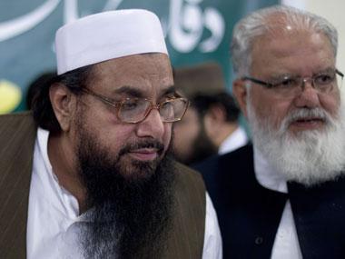Hafeez Saeed in this file photo. AP