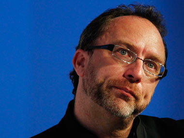 Wikipedia co-founder Jimmy Wales. Reuters