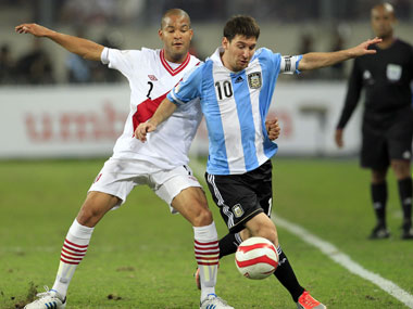 Lionel Messi should be fit to play against Paraguay. Reuters