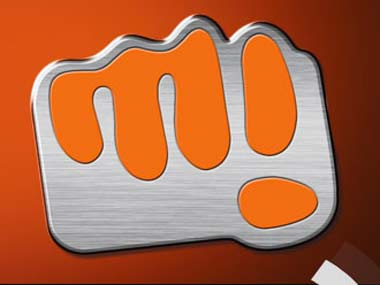Micromax logo is seen in this file photo.