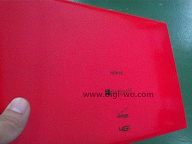 Nokia's bright pink tablet. Image from Digiwo.com