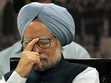 Prime Minister Manmohan Singh lost his cool in the Rajya Sabha today. Agencies.